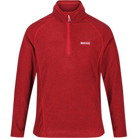 Regatta Montes Sweat-shirt Manches longues Polaire Homme, chinese red/black